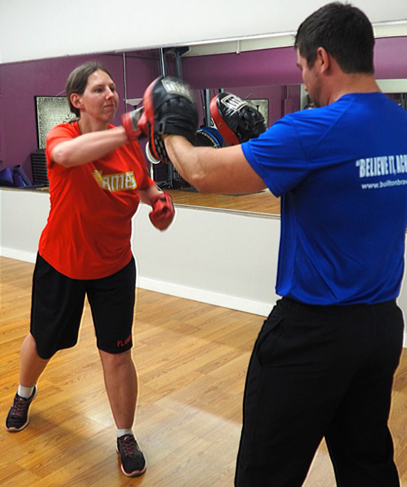 Andrew Cameron special need physical training - Boxing