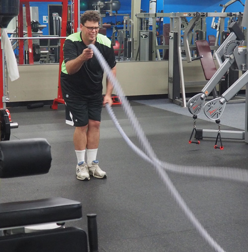 Andrew Cameron special need physical training