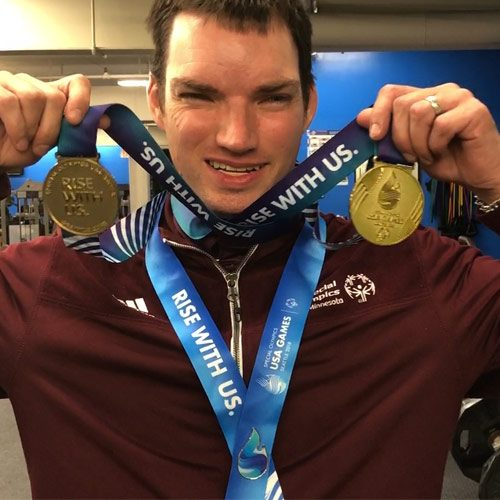 Mark Pfeiffer - Special Olympic Medalist